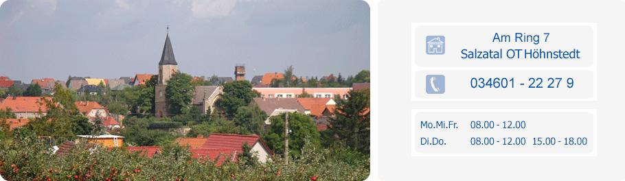 Gemeinschaftspraxis Höhnstedt Startbild